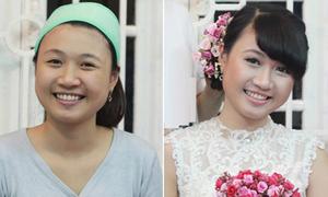 Thi make-up: Trang điểm chụp ảnh cô dâu