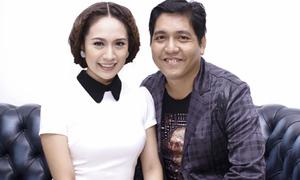 Vợ chồng Thanh Thúy hạnh phúc bên nhau
