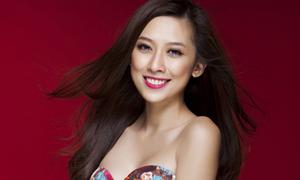 Hot girl Lou Trần xinh tươi đón Tết