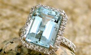 27 mẫu nhẫn đính hôn gắn đá nổi bật