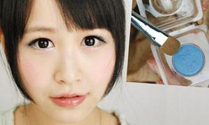 Make-up 'siêu' ngọt màu hồng, xanh cho teen