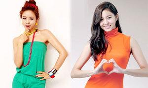 12 mỹ nữ chân dài của làng giải trí Hàn
