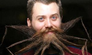 Bộ râu phong cách 'Người nhện'