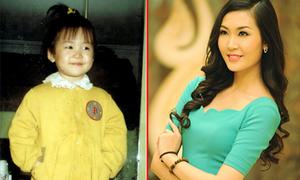 Ảnh 'độc' thời bé của Á hậu Thùy Trang