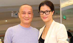Người đẹp Kim Oanh hạnh phúc bên chồng