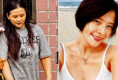 Sao Hoa ngữ thành mỹ nhân nhờ giảm cân