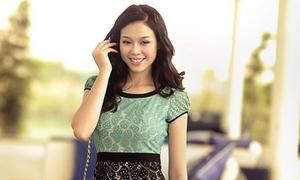 Chọn đầm hè đẹp như Trương Tùng Lan