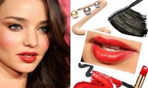 Make-up xinh như Miranda Kerr