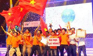 Đại học Lạc Hồng vô địch Robocon Việt Nam 2013