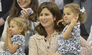 Hai công chúa tinh nghịch nhà Federer