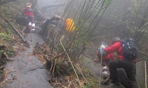 Nam sinh mất tích 10 ngày khi leo đỉnh Fansipan