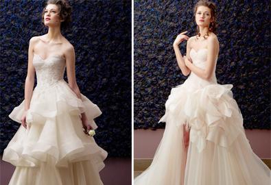 Đột phá ý tưởng với váy cưới Zeine Kash