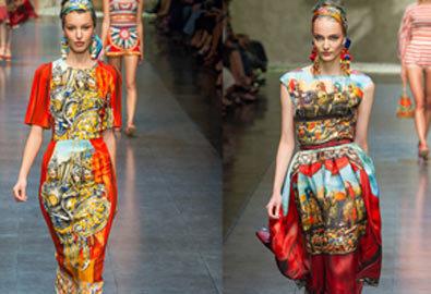 Thiết kế mới của Dolce & Gabbana tại Milano