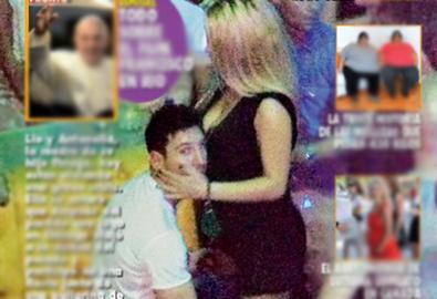 Messi ngả đầu vào ngực mỹ nhân tóc vàng