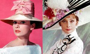 Audrey Hepburn duyên dáng với mũ 'độc'