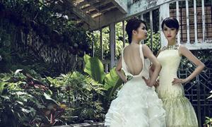 Mẫu váy cưới Việt được báo Tây khen ngợi