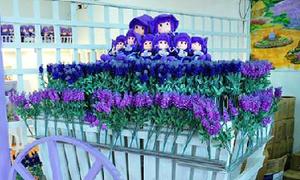 Lavender Garden rực rỡ sắc màu ở Malaysia