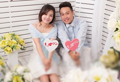 Chụp ảnh cưới trong studio giá rẻ