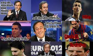 Ảnh hài: Lý do Ribery đoạt Quả bóng vàng châu Âu