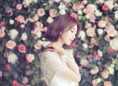 Go Jun Hee điệu đà khoác áo cô dâu