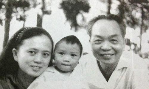 Khoảnhkhắc hạnh phúc bên gia đình của Tướng Giáp