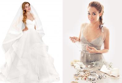 10 chiếc váy cưới yêu thích của Lauren Conrad