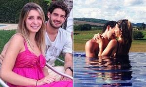 Pato và bạn gái tiểu thư đắm đuối bên nhau