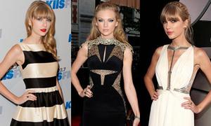 Taylor Swift, nữ hoàng thảm đỏ quốc tế 2013