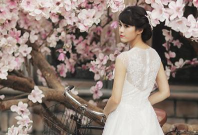 Nét cổ điển cho cô dâu trong ngày cưới