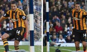 Sao Hull City mất 6.000 bảng sau màn ăn mừng