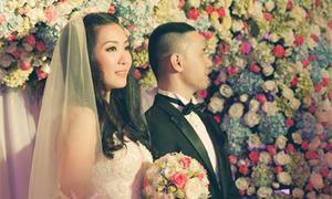 Đám cưới sắc màu của Thùy Trang ở Sài Gòn