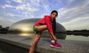 Người đẹp marathon gây sốt ở Trung Quốc