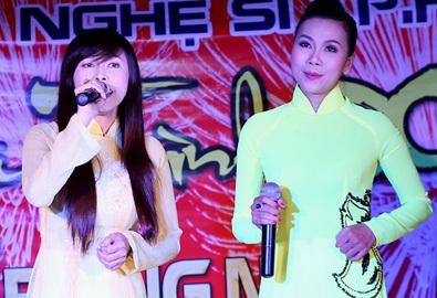 Khánh Ngọc lần đầu 'đọ' giọng hát với chị gái