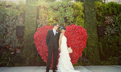 Đám cưới phong cách Valentine ngọt ngào
