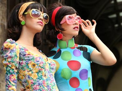 Lan Khuê, Phan Linh cá tính với áo dài cách điệu