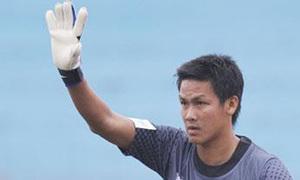 Thủ môn Văn Hưng phát bóng tốt nhất V-League