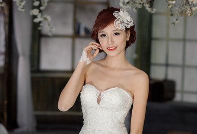 Váy cưới đuôi cá tôn dáng cô dâu Việt