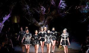 Tuyệt tác khu rừng bí ẩn của Dolce & Gabbana