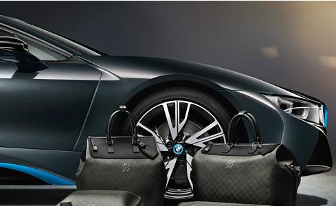 Louis Vuitton làm túi xách riêng cho xe BMW