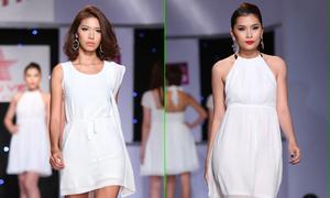 Dàn mẫu trẻ trung, năng động với váy trắng