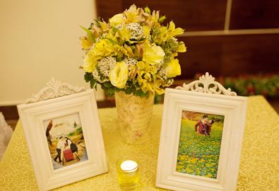 Tiệc cưới Biên Hòa cổ điển với sắc vàng