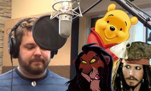 Hát 'Let it go' bằng giọng 21 nhân vật hoạt hình
