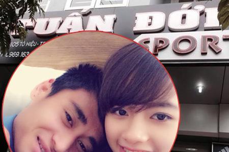 Vợ chồng Vũ Minh Tuấn khai trương shop thể thao