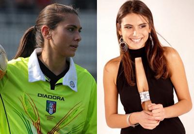 Nữ trọng tài quyến rũ nhất làng bóng đá Italy
