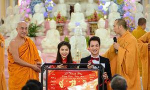 Các bước thực hiện lễ cưới ở chùa