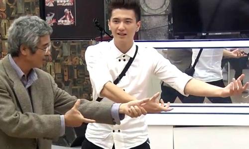 Huỳnh Anh hạnh phúc khi bố đến thăm