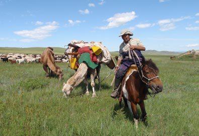 Đẹp lạ lùng nơi thảo nguyên Mông Cổ