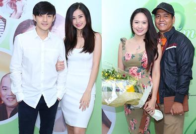 Giao lưu trực tuyến 5 cặp đôi hot của showbiz Việt