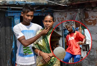 Tài năng khu ổ chuột Ấn Độ được MU để mắt