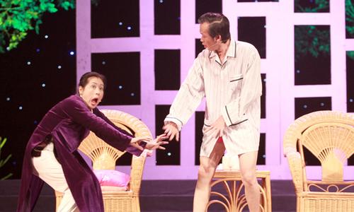 Hoài Linh, Thanh Thủy chọc cười khán giả